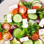 Овощной салат рецепт приготовления
