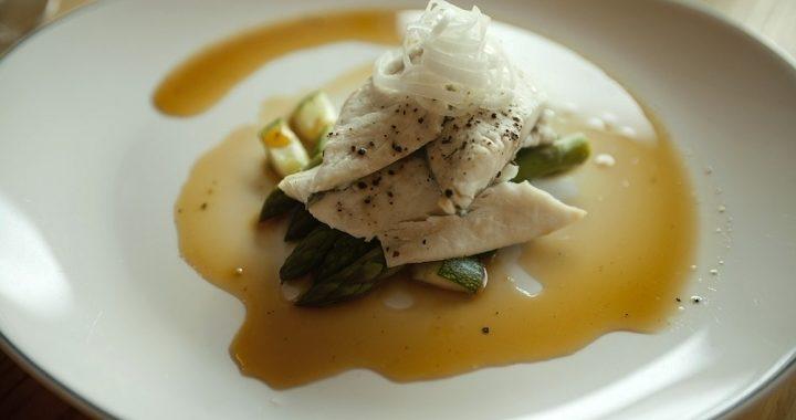 Сибас на пару с овощами рецепт