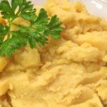 Картофельно-гороховое пюре рецепт