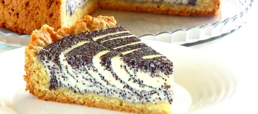Творожно маковый пирог рецепт