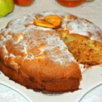 Медовый пирог с яблоками рецепт
