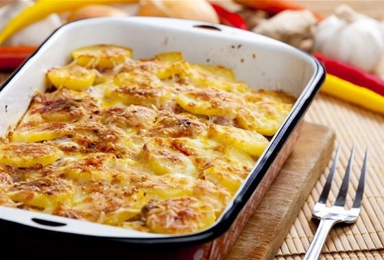 Картофель в духовке с яйцами рецепт