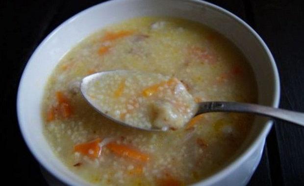 Суп из кукурузной крупы рецепт