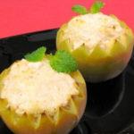 Яблоки фаршированные курицей рецепт