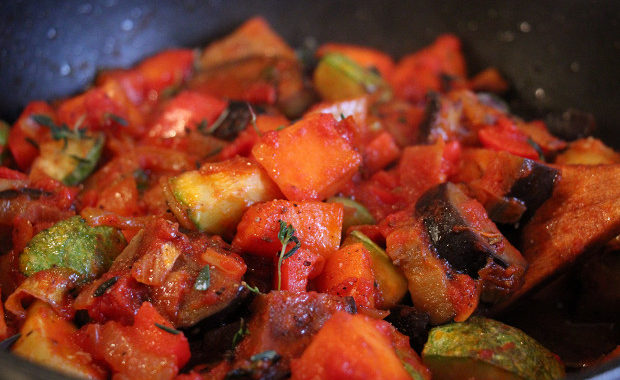Рататуй с тыквой рецепт приготовления
