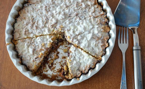 Пирог со смородиновым вареньем рецепт