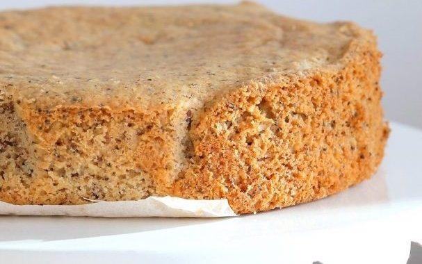 Пирог с маком без дрожжей рецепт