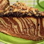 Пирог зебра рецепт приготовления