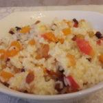 Рис с яблоками рецепт приготовления