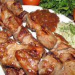 Шашлык из свинины в уксусе