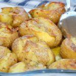 Ароматный картофель, запеченный в фольге