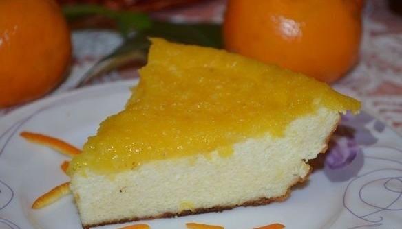 Творожная запеканка с апельсинами рецепт