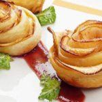 Сладкая яблочная роза рецепт