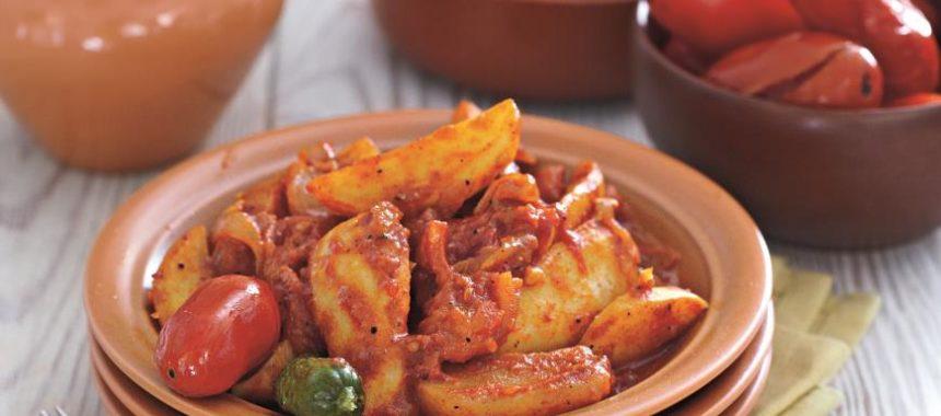 Картофельный гуляш рецепт