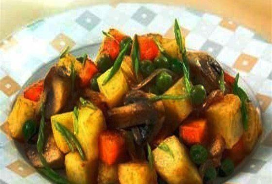 Грибное рагу рецепт приготовления