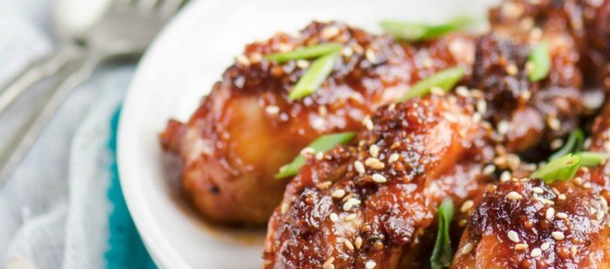 Бедрышки куриные под кисло-сладким соусом