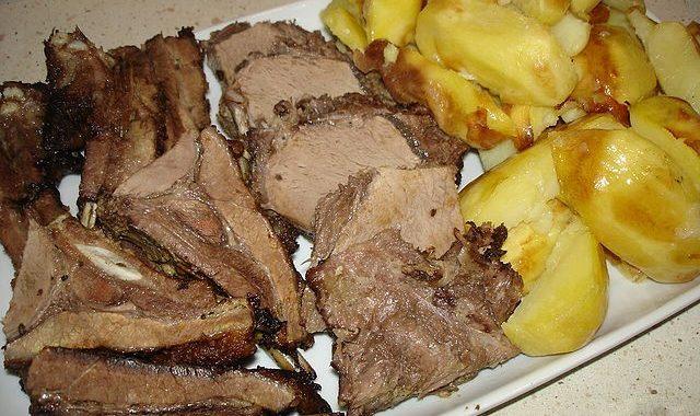 Жаркое из кабана рецепт приготовления
