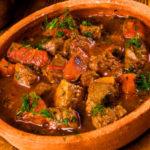 Свинина с овощами по грузински рецепт
