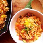 Жареный рис с кимчи рецепт