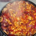 Рагу по мексикански с курицей рецепт