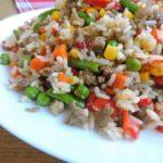Рис с овощами по-мексикански рецепт