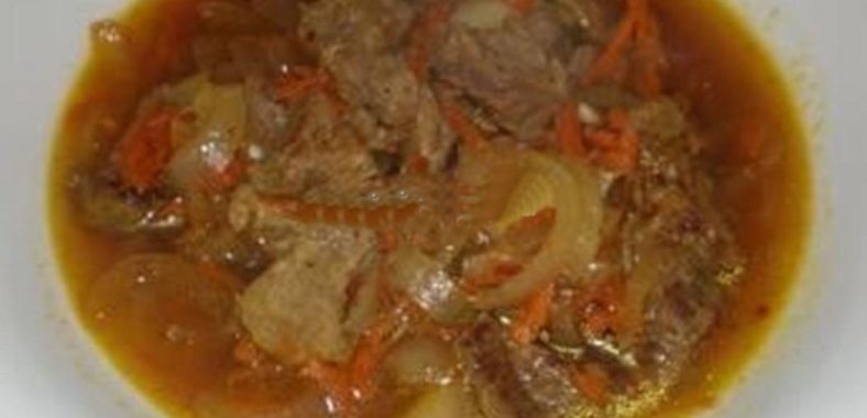 Гуляш из говядины рецепт приготовления
