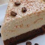 Кофейный торт с шоколадным муссом рецепт