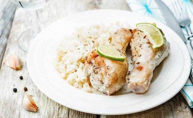 Курица с лаймом и текилой рецепт