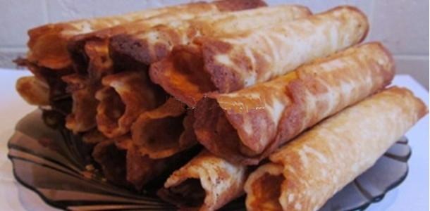 Вафельные трубочки со сгущенкой рецепт