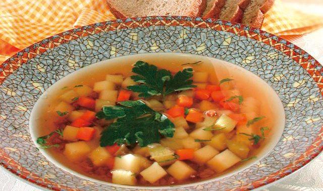 Острый овощной суп с киноа рецепт