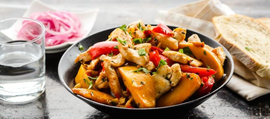 Соте из курицы рецепт приготовления