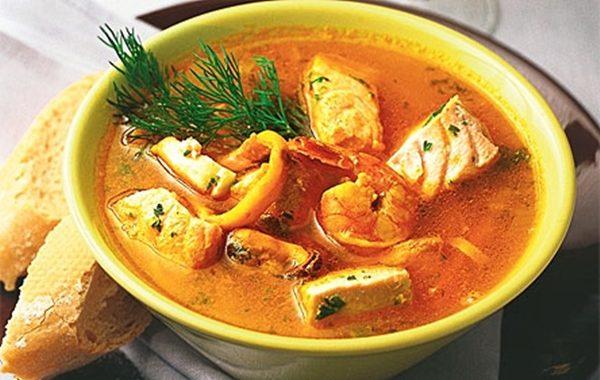 Рыбный суп из горбуши рецепт