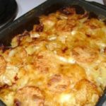 Запеченная куриная грудка с картофелем