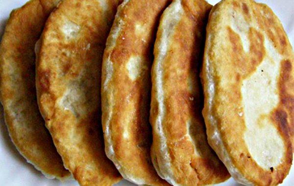 Жареные пирожки с картошкой на сковороде рецепт приготовления