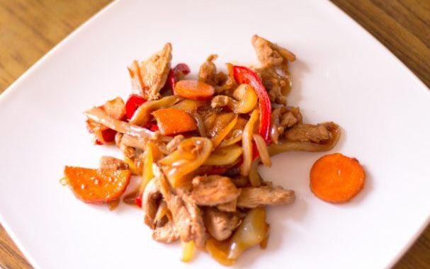 Куриное филе с овощами рецепт