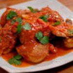 Курица с томатным соусом рецепт