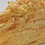 Торт Наполеон из готового слоеного теста рецепт