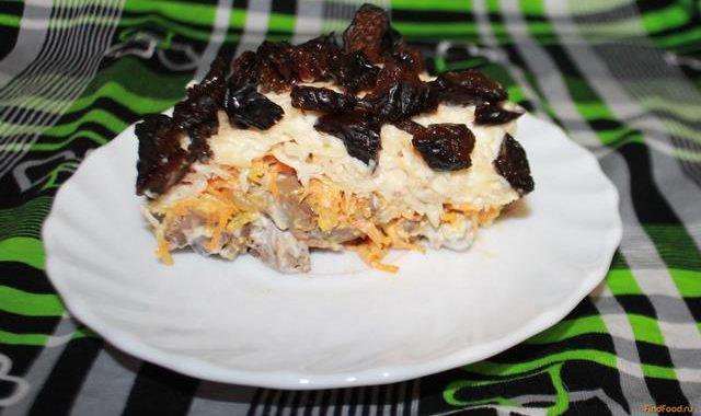 Салат с черносливом рецепт приготовления