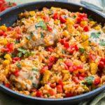 Рис по-мексикански с фасолью рецепт