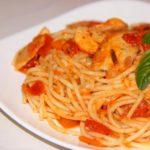 Макароны в томатном соусе рецепт