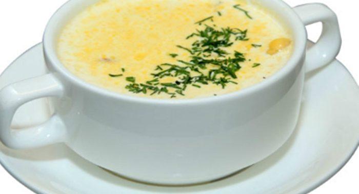 Сырный суп с гренками рецепт приготовления