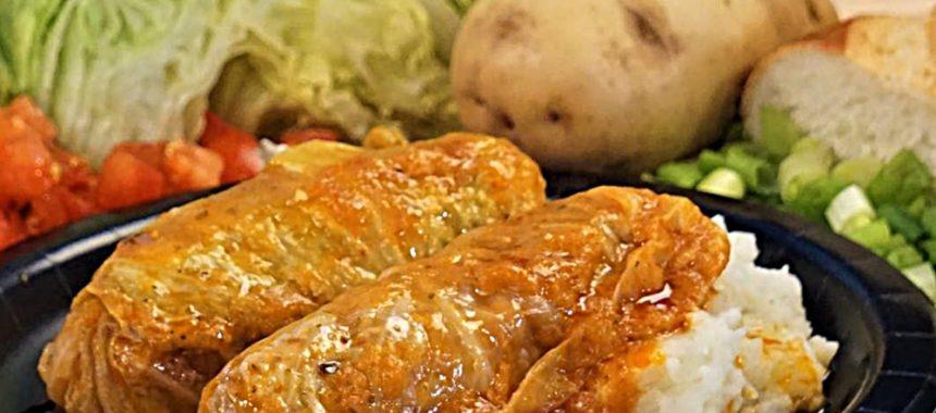 Голубцы из пекинской капусты и курицы рецепт