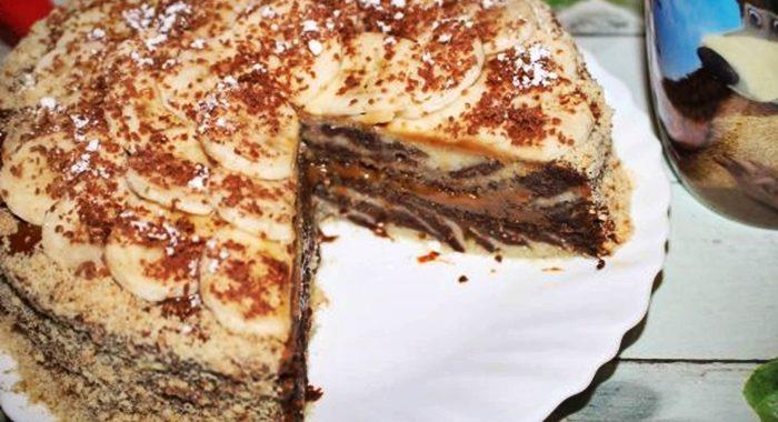 Торт Зебра рецепт приготовления