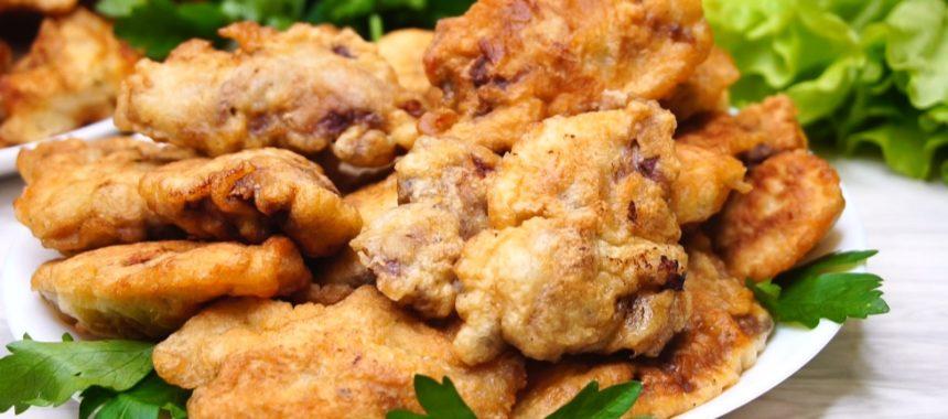 Куриная печень в кляре рецепт приготовления