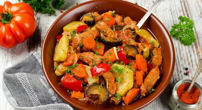 Телячье рагу с овощами рецепт приготовления