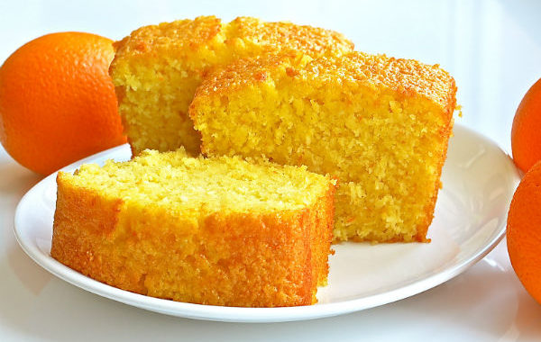 Вкусный апельсиновый кекс с кремом рецепт