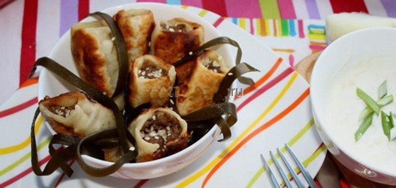 Бораки (армянские пельмени) рецепт приготовления