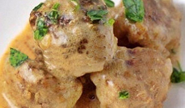 Фрикадельки в сметанном соусе рецепт приготовления