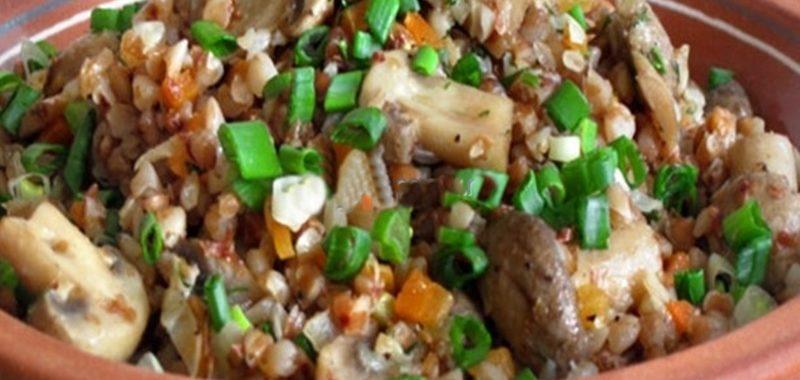 Гречка с грибами рецепт приготовления