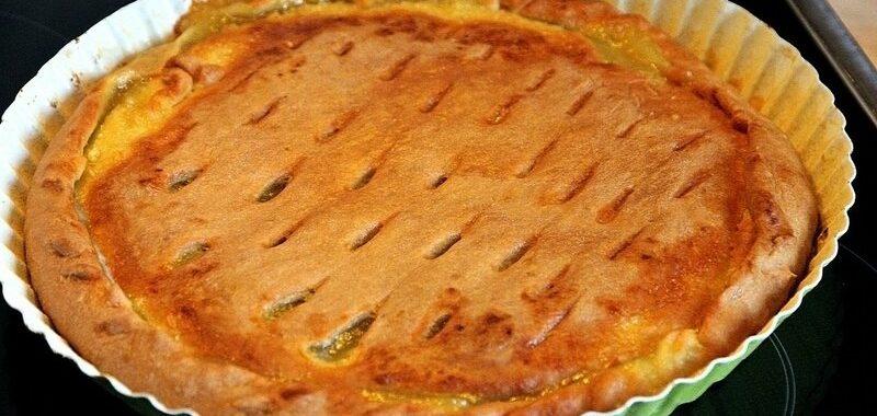 Лимонный пирог рецепт приготовления